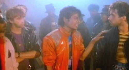 Michael Jackson in Beat It