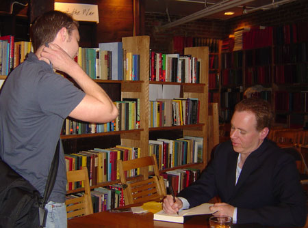 Me and author Bret Easton Ellis