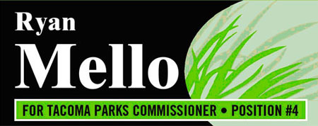 Ryan Mello for Tacoma Parks Commissioner Position #4