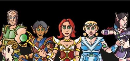 Vork, Zaboo, Codex, Clara, Bladezz