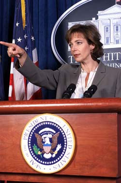 Press Secretary CJ Cregg